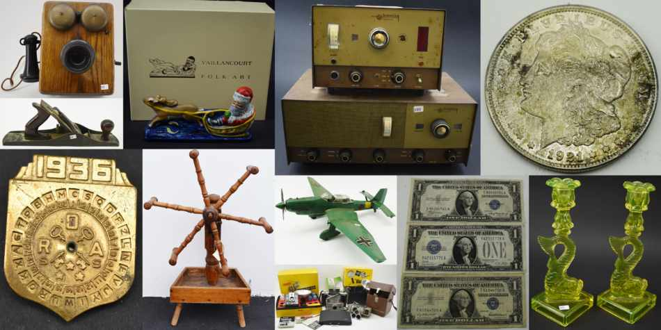 Online Collectibles Auction February 19 thru 25 2021 SOLD