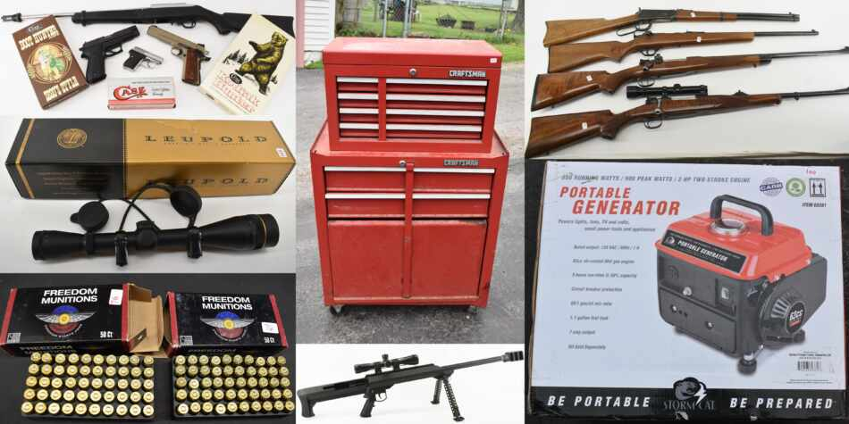 Guns, Knives & Tools Online Auction May 28 to June 3 2021