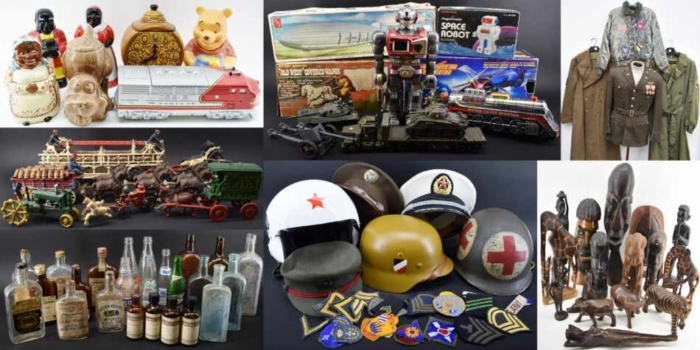 Online Bidding Collectibles Auction October 22 - 28 2021