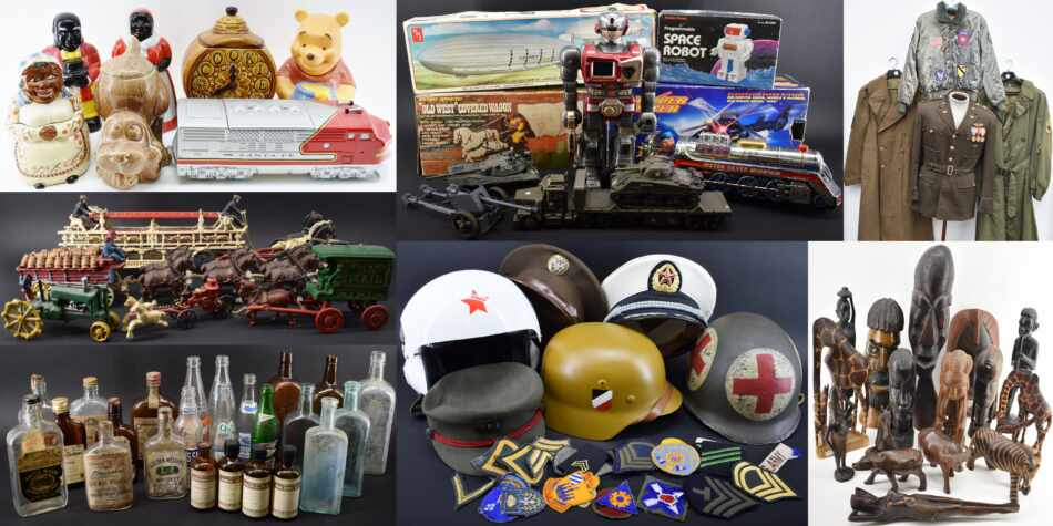 Online Bidding Collectibles Auction October 2021